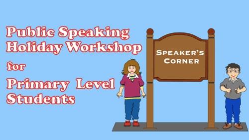 Speaker's Corner Holiday Workshop